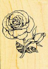 Rose Flower 90575 INKADINKADO RUBBER STAMP ~ w/m  Free Shipping  NEW
