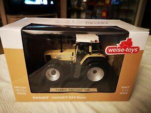 Fendt Favorit 824 Stotz - Weise Toys 1:32 - 500 Stück !!! -  Neu & OVP