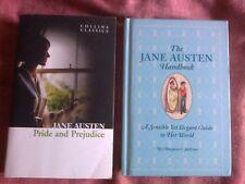 Pride and Prejudice pb + The Jane Austen Handbook NEW Hrdbk