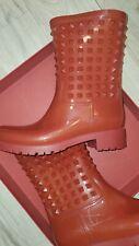 Valentino Rockstud Rainboots - Sz EU 40 or US 10 - Red - Good Condition!