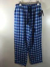 100/% Rayon Blue Dog Print Men/'s IZOD Advantage Sleepwear Lounge Pants