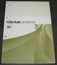 Werkstatthandbuch Elektrik Volvo S 60 / S 60 R / S 80 / elektrische Schaltpläne!