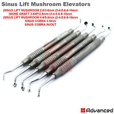 Implant Mushroom Elevators Sinus Lift Periosteal Dental Oral Surgery Instruments