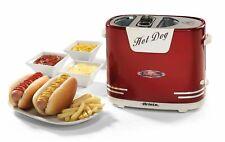 Ariete 0186 Hotdog Party Time Macchina per Hot Dog - Rossa/Argenta