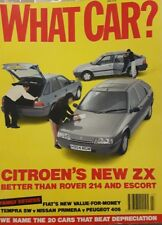 WHAT CAR ?   MAGAZINE  JULY 1991 ENGLISH MONTHLY
