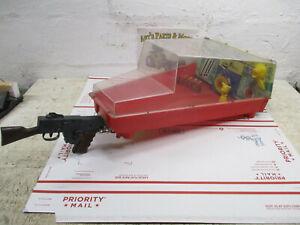 Vintage toy MARX Electro Shot Shooting gallery with gun