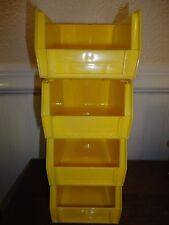 16-Pack Plastic Stackable Tool/Supply Small Storage Container Box Bin Organizer