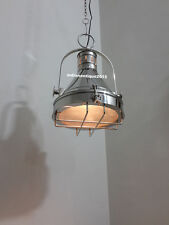 Vintage Chrome Hallway Nautical Ceiling /Pendant Hanging Light  Kitchen Dinning