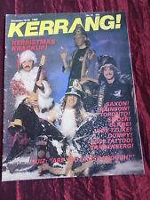 KERRANG -MUSIC MAG-# 31-JUDIE TZUKE - RAINBOW-SAXON -16-29 DEC 1982