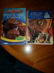 GRILLING WITH BROILMASTER- ANN CAMPBELL  & Omaha Steaks Cookbooks