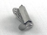 Pfeifendeckel Deckel Pfeife 25mm mit Federn Windschutz aus Metall