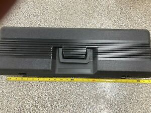 "NEW OEM SEARS CRAFTSMAN 25"" HARDSHELL LOW PROFILE LARGE UNDER SEAT TOOL BOX CASE"