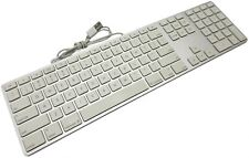 Genuine OEM Apple A1243 Ultra Thin Aluminum USB Full Keyboard w-Numeric Keypad