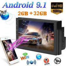 "7"" 2Din Android 9.1 Auto Estéreo Radio Navegación GPS WIFI 2GB Ram 32GB"