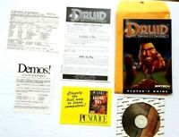 Druid Daemons of the Mind 1995 PC Game Disc Manual & extras demons excellent