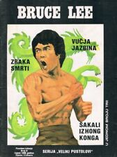 BRUCE LEE #8 1990 Vintage YUGOSLAVIAN COMIC cover BRUCE LEE