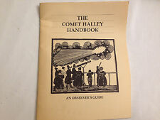 The Comet Halley Handbook : An Observers Guide  SIGNED