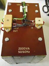 USA/SPECIAL 2000VA 50/60 Hz TRANSFORMER FOR QUAD 841C SOLDER REFLOW OVEN UK