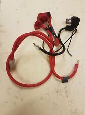 BMW 5 series E61 LCI Positive and Negative Battery Cable 6989782,9184204
