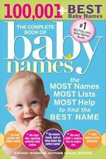 The Complete Book of Baby Names: The Most Names, Most Lists, Most Help to Fi