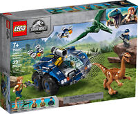 75940 LEGO Jurassic World Gallimimus and Pteranodon Breakout 391 Pieces Age 7+