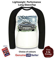 Ford Capri MK1 Shirt, Long Sleeve Shirt, Men's Top,