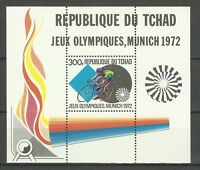 Chad Tchad Sport 20th Jeux Olympique Munich Summer Olympics Games Cycling **1972