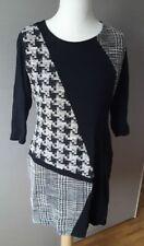 Tolles Kleid von DESIGUAL XXL 44 46 Schwarz Weiß Mustermix