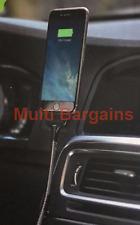 Silver Universal Twin 2 Port USB Dual Car Charger Cigarette Socket Lighter 12v