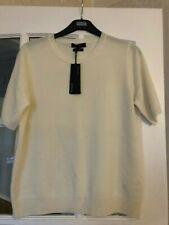 Luxurious 100% cashmere cream M&S Autograph short sleeve jumper £69 16