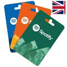 Spotify Premium Gift Card * UK [ SALE ]   12 M0nths   Prepaid
