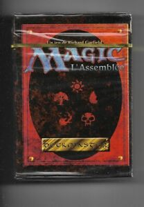 MTG 4th Edition Tournament Starter Deck: French Sealed Magic the Gathering NEW
