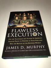 Flawless Execution James D. Murphy 2005 HC DJ Signed Copy Fighter Pilots