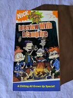 Rugrats All Grown Up - Interview with a Campfire (VHS, 2005, Paramount Video)