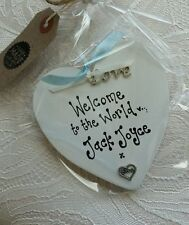 Patternless Baby Custom Made Decorative Plaques & Signs