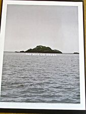 The War on Drugs-Mini Concert Poster Reprint 2014 Chicago IL 14x10 Unsigned