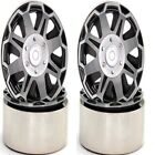 """Double Spoke 1.9"""" Aluminum High Mass Rock Crawler Beadlock Wheels (4) SCX10 W..."""