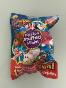 Flip-A-Zoo Stuffed Plush Minis Series 1 Random Blind Bag New Mystery Gift Toy