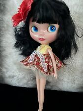 💖  🇬🇧 Blythe Basaak Doll With Black Hair & Pretty Outfit UK 🇬🇧Seller