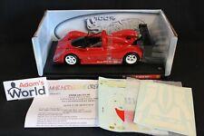 Hot Wheels unbuilt transkit Ferrari 333 SP 1:18  #1 winner SRWC Barcelona (PJBB)