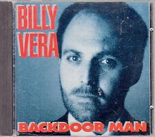 BILLY VERA Backdoor Man - West German 1985 Interphon CD no barcode unplayed