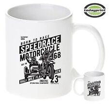 Tasse Speedrace Motorcycle, Cafe Racer, Gespann, Biker, Old School, Scrampler