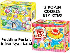 UK Seller Japanese Sweets 2 Popin Cookin DIY Kits Pudding Cake & Candy Clay