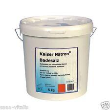 HOLSTE Kaiser Natron Badesalz 5 kg,  Basisches Bad für´s Wohlbefinden,