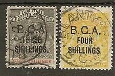 NYASALAND 1892 SURCH SG18/19 FINE USED
