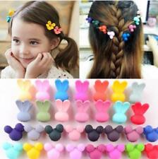 30Pcs Baby Childrens Flowers Claw Hair Clips