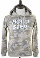 HOLLISTER Mens Hoodie Jumper Small Multicoloured Cotton  MR27