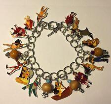 Pocahontas Bracelet Native American Princess Charms