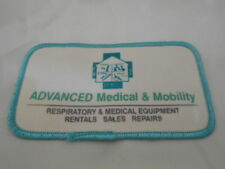 Advanced Medical & Mobility Used Sew On Name Patch Tag
