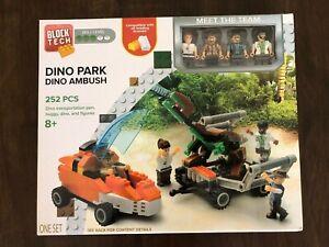 NEW Block Tech Dino Park Kids 8+